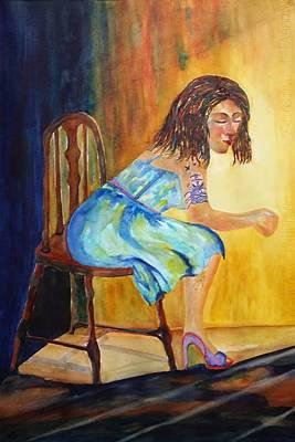 Painting - Docked by Kim Shuckhart Gunns