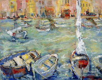 Docking In Cassis Art Print