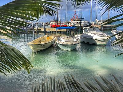 Photograph - Docking In St Martin by Anne Sands