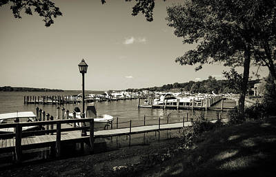 Photograph - Docks And Boats by Susan Stone