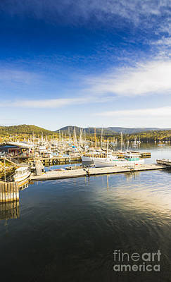 Docks And Wharfs Art Print by Jorgo Photography - Wall Art Gallery