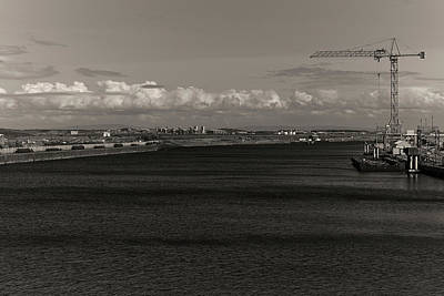 Barrow In Furness Wall Art - Photograph - Docks by Keith Elliott