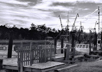 Photograph - Dockside At Day's End by Ed Waldrop