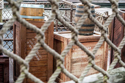 Photograph - Dockside Crates by Pamela Williams