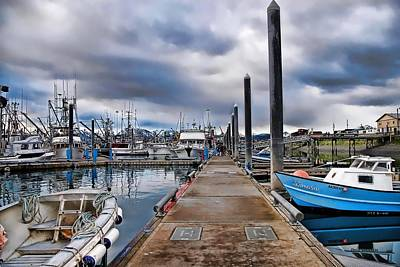 Photograph - Dockside by Dyle   Warren