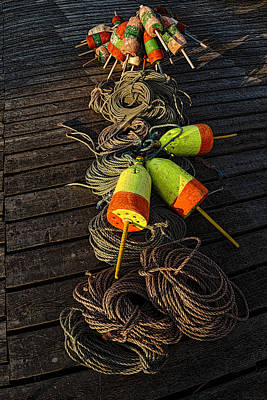 Photograph - Dockside Still Life by Marty Saccone