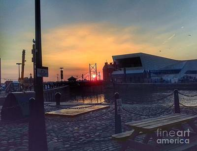 Photograph - Dockside Sunset by Joan-Violet Stretch