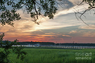 Photograph - Dockside Twilight by Dale Powell
