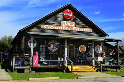 Photograph - Doc's Country Store by Laura Ragland