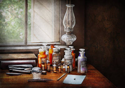 Pharmaceutical Photograph - Doctor - The Doctor Is In by Mike Savad
