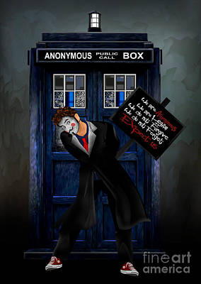 Doctor Anonymous Art Print