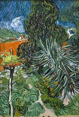 Painting - Doctor Gachet's Garden In Auvers by Vincent Van Gogh