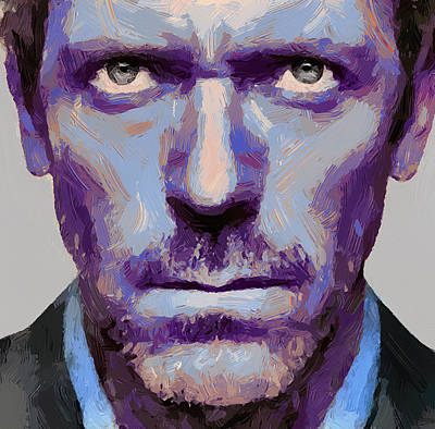 Gregory House Digital Art - Doctor Gregory House 1 by Yury Malkov