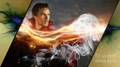 Doctor Strange Collection Art Print by Marvin Blaine