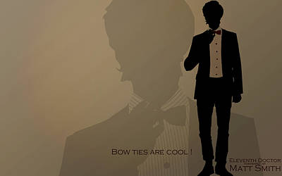 Doctor Who Digital Art - Doctor Who Eleventh Doctor                   by F S