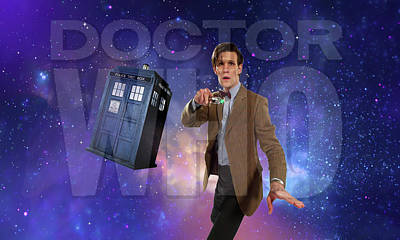 Doctor Who Art Print by Pat Cook