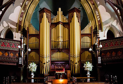 Photograph - Dodd Pipe Organ Kent Town Adelaide by Jenny Setchell
