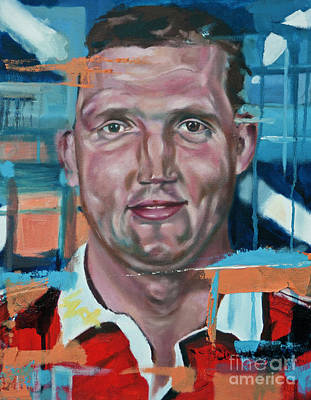 Painting - Doddie Weir by James Lavott