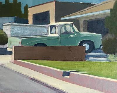 Painting - Dodge 100 In Repose by Richard Willson