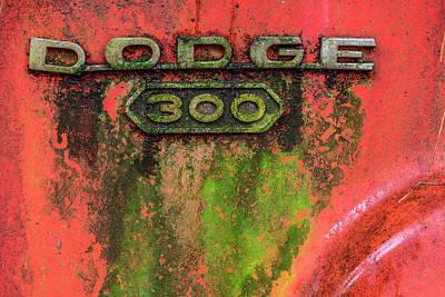 Photograph - Dodge 300 by Randy Walton