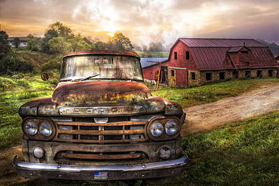 Photograph - Dodge At The Farm by Debra and Dave Vanderlaan