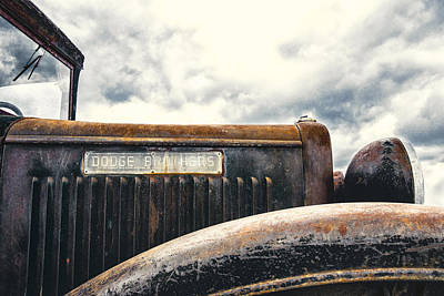 Rusty Old Trucks Photograph - Dodge Brothers by Humboldt Street