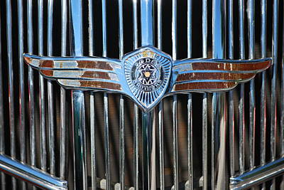 Photograph - Dodge Brothers Logo And Grill by Heather Kirk