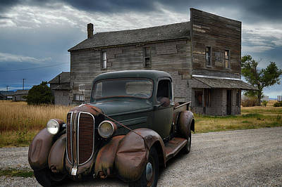 Photograph - Dodge Brothers P U by Bill Dutting