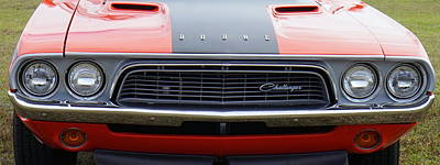 Photograph - Dodge Challenger by Laurie Perry
