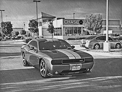 Photograph - Dodge Challenger Srt _a3 by Walter Herrit