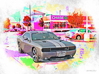 Photograph - Dodge Challenger Srt _a5 by Walter Herrit