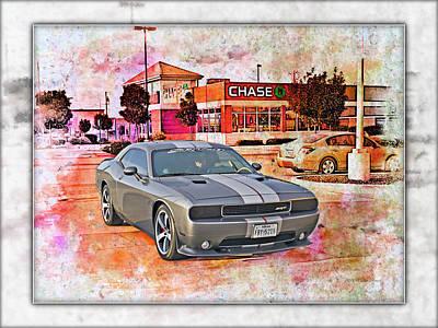 Photograph - Dodge Challenger Srt _a9 by Walter Herrit