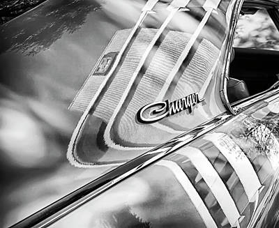 Photograph - Dodge Charger Reflections by Theresa Tahara