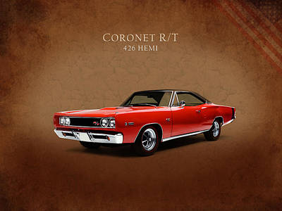 Coronet Photograph - Dodge Coronet 426 Hemi by Mark Rogan