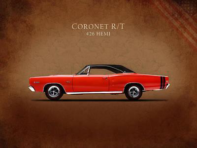 Coronet Photograph - Dodge Coronet R T by Mark Rogan