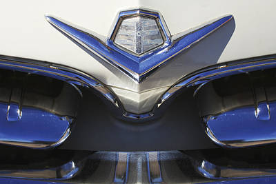 Photograph - Dodge Custom Royal V8 Hood Ornament by Jill Reger