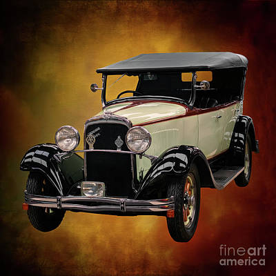 Photograph - Dodge Da Tourer 1929 by Adrian Evans