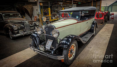 Bellows Photograph - Dodge Da Tourer by Adrian Evans