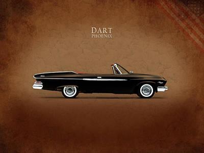 Dart Photograph - Dodge Dart D 500 by Mark Rogan