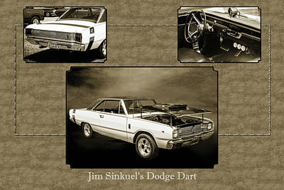 Digital Art - Dodge Dart Photographic Print 5533,01 by M K Miller