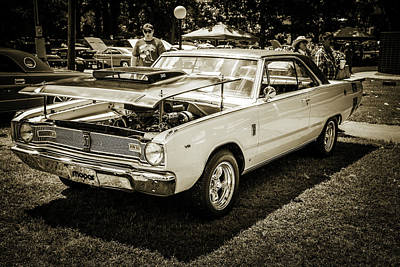 Digital Art - Dodge Dart Photographic Print 5533,02 by M K Miller