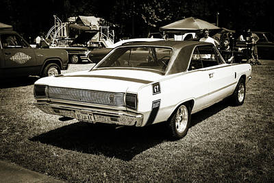 Photograph - Dodge Dart Photographic Print 5533,04 by M K Miller