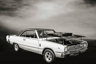 Photograph - Dodge Dart Photographic Print 5533,07 by M K Miller