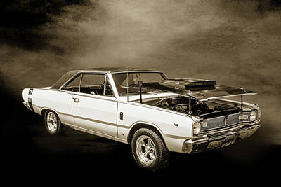 Photograph - Dodge Dart Photographic Print 5533,08 by M K Miller