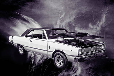 Photograph - Dodge Dart Photographic Print 5533,09 by M K Miller