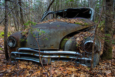 Photograph - Dodge Hood by Alana Ranney