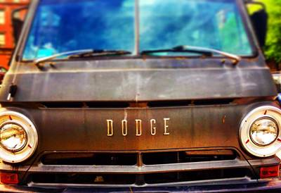 Digital Art - Dodge In Town by Olivier Calas