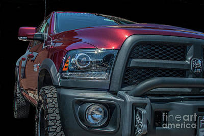 Photograph - Dodge Ram 2500 by Tony Baca
