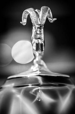 Photograph - Dodge Ram Hood Ornament 2 by Jill Reger