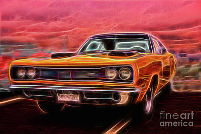Photograph - Dodge Super Bee by Steven Parker
